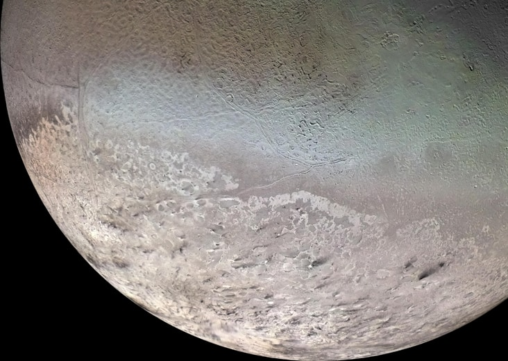 Тритон- спутник планеты Нептун